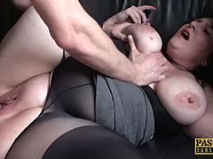 PASCALSSUBSLUTS - mom cute fat hottie Andi XXX dicked into subservience maturepornvideos