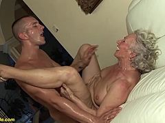 Grannies over 30 love to suck dicks during hot Porn Videos